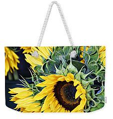 Spring Sunflowers Weekender Tote Bag
