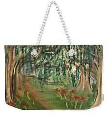Spring Trail Weekender Tote Bag