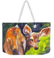 Spring Twins 1 Weekender Tote Bag