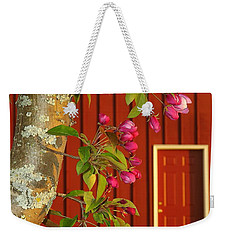 Weekender Tote Bag featuring the photograph Spring by Viviana  Nadowski