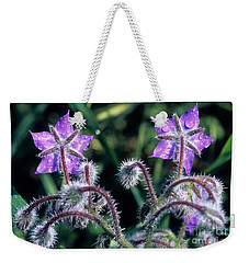 Spring Wild Flowers Weekender Tote Bag by George Atsametakis