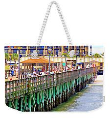 Springmaid Beach Pier 2006 Weekender Tote Bag