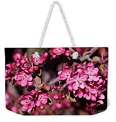 Weekender Tote Bag featuring the photograph Spring's Arrival by Roselynne Broussard