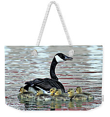 Spring's First Goslings Weekender Tote Bag