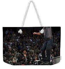 Springsteen In Motion Weekender Tote Bag