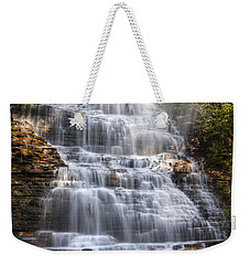 Springtime At Benton Falls Weekender Tote Bag