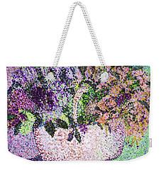 Springtime Basket Weekender Tote Bag