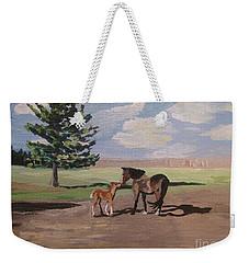 Springtime Foal Weekender Tote Bag