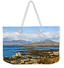Weekender Tote Bag featuring the photograph Springtime In Connemara by Jane McIlroy