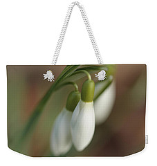 Springtime In Motion Weekender Tote Bag by Connie Handscomb