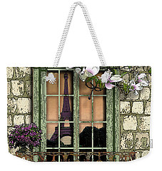 Springtime In Paris Weekender Tote Bag