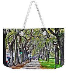 Springtime In Savannah Weekender Tote Bag by Lydia Holly