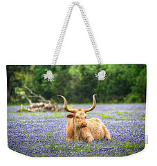 Springtime In Texas Weekender Tote Bag
