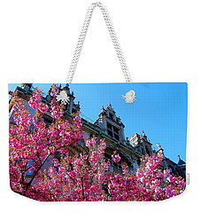 Springtime On Commonwealth Avenue Weekender Tote Bag
