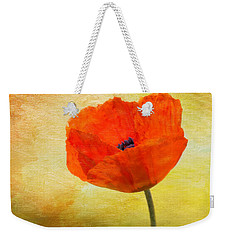 Springtime Poppy Beauty Weekender Tote Bag by Denyse Duhaime