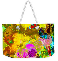 Springtime Splash Weekender Tote Bag by Mayhem Mediums