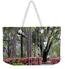 Springtime Swing Time Weekender Tote Bag by Carla Parris
