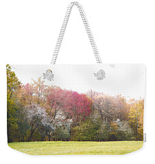 Weekender Tote Bag featuring the photograph Springtime Trees In Bloom  by Brooke T Ryan