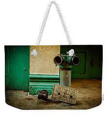 Sprinkler Green Weekender Tote Bag