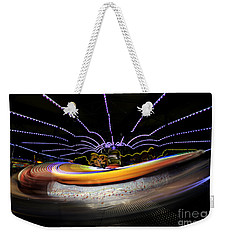 Spun Out 2 Weekender Tote Bag by Ray Warren