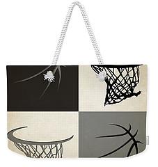 Spurs Ball And Hoop Weekender Tote Bag