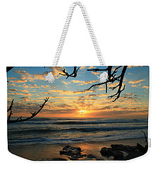 Spying At The Sun Weekender Tote Bag by Catie Canetti