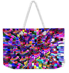 Weekender Tote Bag featuring the photograph Squared Array by Kellice Swaggerty