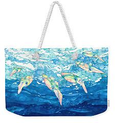 Squid Ballet Weekender Tote Bag