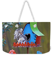 Squirrel Loves New Hang Out Weekender Tote Bag by Luana K Perez