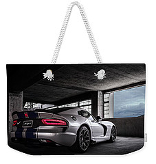 Srt Viper Weekender Tote Bag by Douglas Pittman