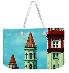 St Augustine Florida Weekender Tote Bag