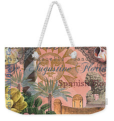 St. Augustine Florida Vintage Collage Weekender Tote Bag