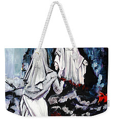 St. Bernadette At The Grotto Weekender Tote Bag