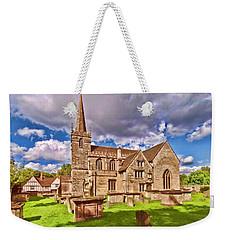St Cyriac Church Lacock Weekender Tote Bag