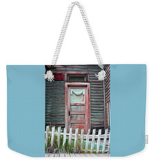 St. Elmo Door Salmon Weekender Tote Bag by Lanita Williams