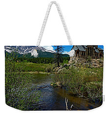 Church On The Rock Weekender Tote Bag