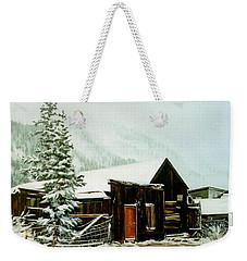 St Elmo Snow Weekender Tote Bag