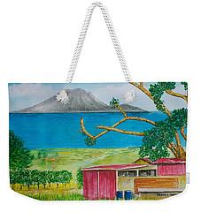 St. Eustatis From St. Kitts Weekender Tote Bag by Frank Hunter
