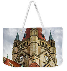 St. Francis Of Assisi Church In Vienna Weekender Tote Bag