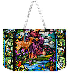St. Francis Of Assisi Weekender Tote Bag