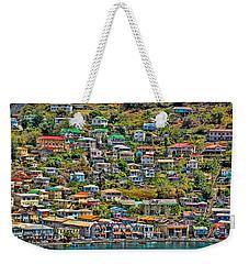 St. Georges Harbor Grenada Weekender Tote Bag