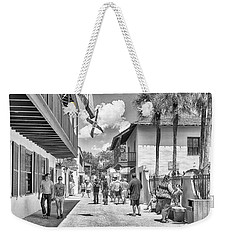 Weekender Tote Bag featuring the photograph St. Geroge Street by Howard Salmon