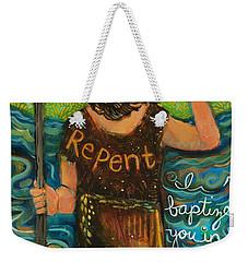 St. John The Baptist Weekender Tote Bag