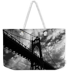 St Johns Bridge Weekender Tote Bag by Wes and Dotty Weber