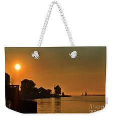St Joseph Lighthouse Sunset Weekender Tote Bag