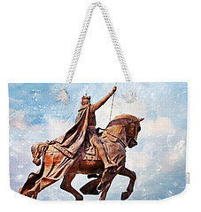 Weekender Tote Bag featuring the photograph St. Louis 3 by Marty Koch