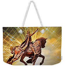 Weekender Tote Bag featuring the photograph St. Louis 5 by Marty Koch