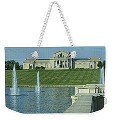 St Louis Art Museum And Grand Basin Weekender Tote Bag