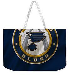 St Louis Blues Uniform Weekender Tote Bag