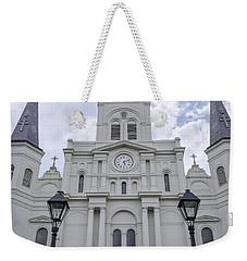 St. Louis Cathedral Close-up Weekender Tote Bag